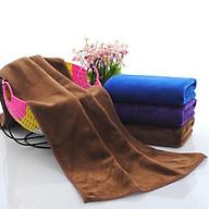 Khăn tắm lớn bông mềm(70cmx140) (màu ngẫu nhiên) thumbnail