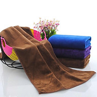 Khăn tắm lớn bông mềm(70cmx140)( màu ngẫu nhiên) thumbnail