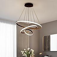 Đèn thả 3 vòng IRENE 3 chế độ màu ánh sáng trang trí nội thất thumbnail