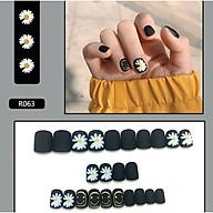 Bộ 24 móng tay giả nail thơi trang (như hình-R063) thumbnail