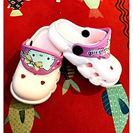 Dép cross cho bé Hellokitty, sục trẻ em siêu nhẹ chống trơn tốt thumbnail