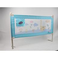 Chặn giường cao cấp Mastela cho Bé Mẫu mới nhất- giá 1 thanh, Màu Xanh Huơu cao cổ, tặng Khăn ướt cho Bé thumbnail