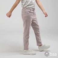 Quần dài kaki BAA BABY kẻ sọc tím hồng cho bé gái - GT-QU13D-004SO thumbnail