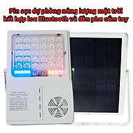 Pin sạc dự phòng năng lượng mặt trời 5.000mAh có kèm loa Bluetooth nghe nhạc PL15.1 thumbnail