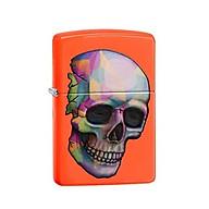 Bật Lửa Zippo Sexy Skeleton Neon Orange Chính Hãng Usa thumbnail