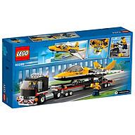 Đồ chơi LEGO City Xe Vận Chuyển Máy Bay Phản Lực 60289 thumbnail