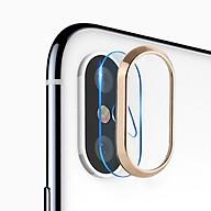 Miếng dán kính cường lực Camera và viền bảo vệ Camera iPhone X Totu mỏng 0.28 mm - Hàng chính hãng thumbnail