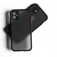 Ốp lưng trong nhám viền Shield Matte Color bảo vệ camera cho iPhone 11 thumbnail