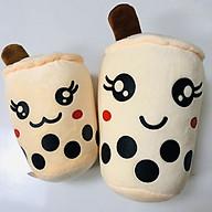 Gấu Bông Gối Ôm 2T Ly Trà Sữa Xinh Xắn Dễ Thương Bông Gòn Cao Cấp thumbnail