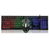 Bộ bàn phím và chuột K-SNAKE KM320 chuyên Game Led 7 màu - hàng nhập khẩu thumbnail