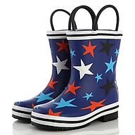 Ủng đi mưa ngôi sao giúp bé, chống trơn, ướt, khi đi trời mưa, thăm vườn rau, giúp bảo vệ đôi chân bé tránh những vật sắt nhọn SB019 thumbnail
