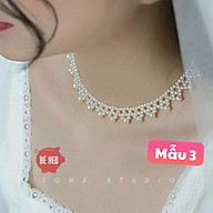 Choker ngọc trai nhân tạo trang sức cô dâu - Trang sức Bé Heo BHDC251 thumbnail