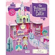 Mô hình giấy 3D Lâu Đài Công Chúa chính hãng Sassi Junior Princess Castle 3D modeling thumbnail