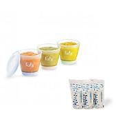 Bộ 3 Cốc Trữ Thức Ăn Dặm Fatzbaby FB0060N Cho Bé- Tặng Kèm 1 Túi Trữ Sữa Unimom 210ml thumbnail