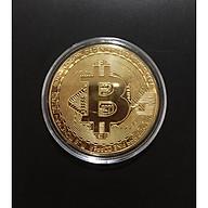 Đồng Xu Bitcoin Lưu Niệm Mạ Vàng Chất Lượng UNC thumbnail