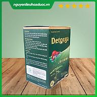 Thực phẩm bảo vệ sức khỏe Detoxga - bổ gan, giải độc gan, tăng cường chức năng gan, hạ men gan (hộp 60v) thumbnail
