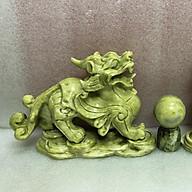Tỳ hưu đá tự nhiên ngọc serpentine sản xuất tại Việt Nam nặng 5 kg cặp ( giá sản phẩm là 1 cặp)TIHUUDATUNHIEN5KG.CAP thumbnail