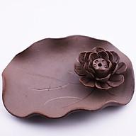 Đĩa đốt trầm nụ và trầm cây hoa sen thumbnail