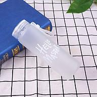 Bình Đựng Nước Thủy Tinh Hello Master - BN19 - Trắng thumbnail