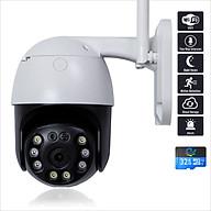 Camera IP - Camera Wifi Quan Sát CC8031 Ngoài Trời Đàm Thoại 2 Chiều 3.0Mpx 2304x1296P, Xoay 360 Độ Kèm Thẻ Nhớ 32Gb - Chính Hãng thumbnail