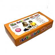 Bộ Thẻ Flashcards Cho Bé Từ Đơn -Từ Ghép Song Ngữ Anh_VIệt Loại Thẻ To BENRIKIDS-TUDON thumbnail