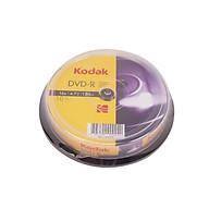 Bộ 10 Đĩa DVD-R 16X 4.7GB Kodak UBL EC0121 thumbnail