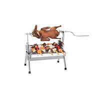 Bếp nướng than hoa đa năng TOPV Nướng 2 trong 1, lò nướng than Inox bền sạch, lò quay vịt gia đình, bếp nướng than DNS thumbnail