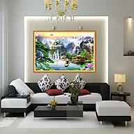 tranh treo phòng khách thuận buồm 45x60 kính CL CÓ KHUNG SANG TRỌNG thumbnail