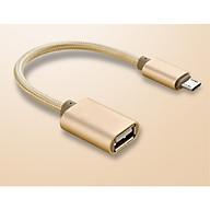 Cáp OTG Micro USB Sang USB 2.0 - Mở Rộng Kết Nối Cho Điện Thoại Với USB, Chuột, Bàn Phím thumbnail