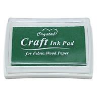 Hộp Mực Dấu Craft Ink Pad - Màu Xanh Lá Đậm thumbnail
