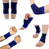 Bộ Bảo Hộ Chơi Thể Thao 5 Món dành cho cả nam và nữ (cổ tay, bàn tay, bàn chân, đầu gối, khủy tay) thumbnail