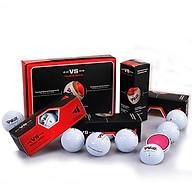 Q017 Bóng Chơi Golf Lõi Kép - PGM 3 Layers Golf Ball Set (Hộp 12 quả) thumbnail
