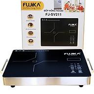 Bếp Hồng Ngoại 2000W Fujika FJ-SV211 Mặt Kính Ceramic Nấu Mọi Loại Nồi Có Thể Nướng Trực Tiếp Trên Bếp-Hàng Nhập Khẩu thumbnail