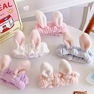Băng dô rửa mặt tai thỏ dễ thương cho bạn gái thumbnail