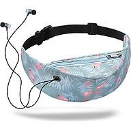 Waist Bags Running Bag Fashion Earphone Hole Polyester Fiber Tourism Run thumbnail
