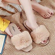 Dép Nữ quai ngang Lông Mềm Mịn Trẻ Trung Cao Cấp Fashion - DL 001 thumbnail