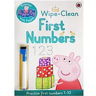 Peppa Pig Practise With Peppa Wipe-Clean Numbers thumbnail
