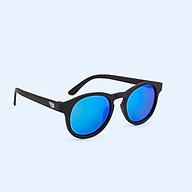Kính chống tia cực tím có tròng kính phân cực cho bé Babiators The Agent, Tráng gương xanh, 3-5 tuổi thumbnail