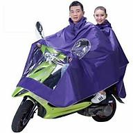 Áo mưa phản quang 2 đầu có kính che mặt tiện lợi thumbnail