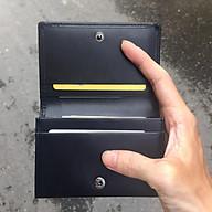 Bóp Ví Đựng Thẻ ATM ( Card Holder) Da Bò Cao Cấp, Thiết Kế Tinh Tế, Thời Trang V2 2020 - ORCO (Kích thước 11 cm x 8 cm) thumbnail