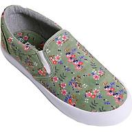 Giày Slip On Nữ Urban UL1702 Hoa Nhí - Xanh thumbnail