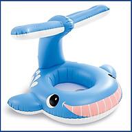 Phao bơi xỏ chân cá voi xanh INTEX 56591 cho bé - Hàng chính hãng thumbnail