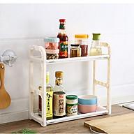 Khay Giá để đồ nhà bếp 2 tầng kệ đa năng (Màu ngẫu nhiên) thumbnail