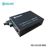 Bộ chuyển đổi quang điện Ho-Link HL-1111S-20AB 1 sợi quang 10 100MB - Hàng chính hãng thumbnail