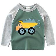 Áo bé nam quần áo bé trai, áo thu đông mẫu Supere cool cao cấp cho bé từ 10kg đến 30kg thumbnail