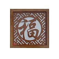 Tấm chống ám khói hương bàn thờ mẫu chữ phúc hán vàng - TL285 thumbnail