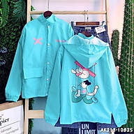 Áo khoác dù Trành Nắng dành cho nam nữ và cặp đôi In Hình Banawa, Unisex form rộng Có 4 Màu Bomber Jacket thumbnail