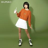 Áo thun croptop nữ tay dài GUMAC ATB313 thumbnail