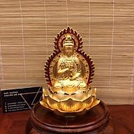 Tượng Phật Hai Mặt Quan Thế Âm Bồ Tát Mạ Vàng Đài Loan Xịn Cực Mới Lạ thumbnail