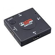 Bộ gộp HDMI 3 cổng vào 1 cổng ra (Đen) thumbnail